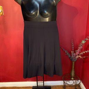 Ann Taylor Loft Black Skirt Size L